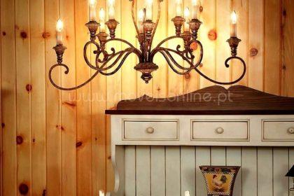 candeeiros rusticos